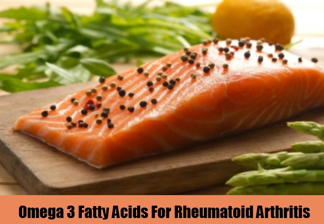Omega 3 Fatty Acids For Rheumatoid Arthritis