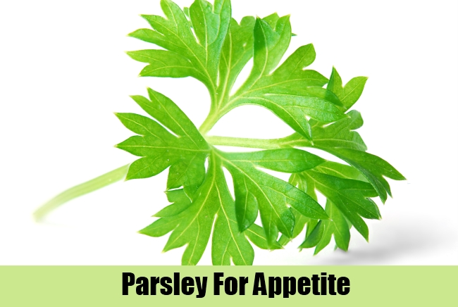 Parsley For Appetite