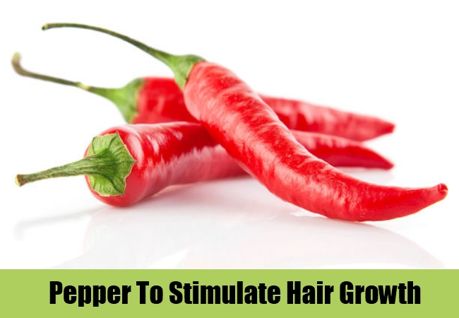 Pepper To Stimulate Hair Growth