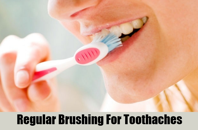 Regular Brushing For Toothaches