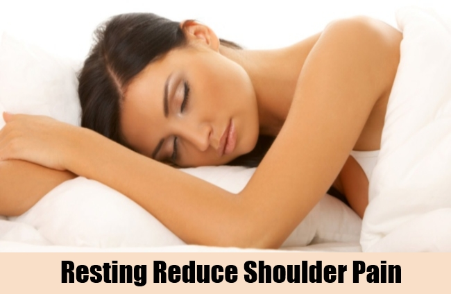 Resting Reduce Shoulder Pain