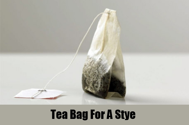Tea Bag For A Stye