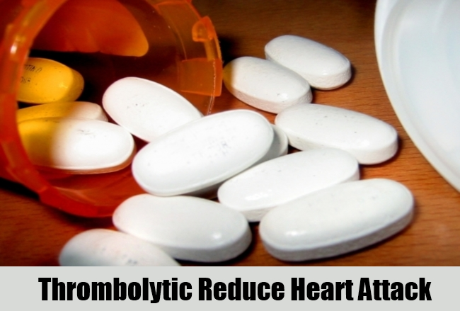 Thrombolytic Reduce Heart Attack