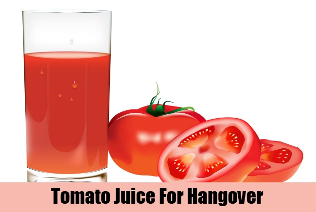 Tomato Juice For Hangover
