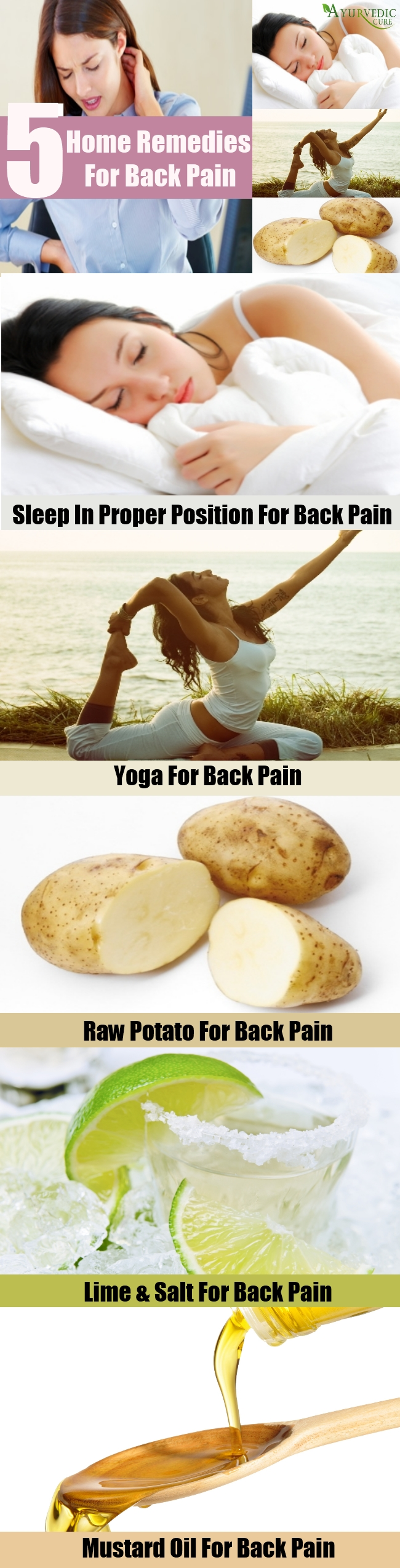 Top 5 Home Remedies For Back Pain
