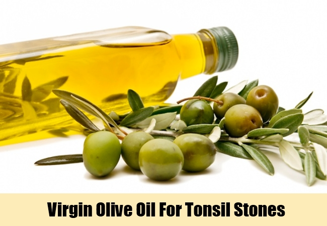 Virgin Olive Oil For Tonsil Stones