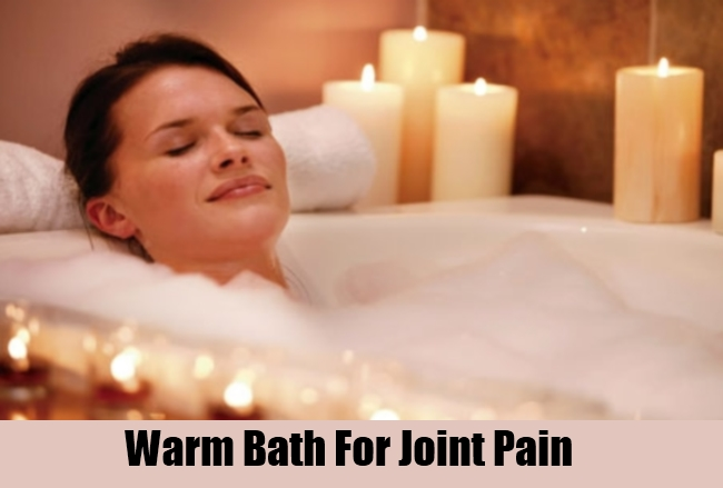 Warm Bath For Joint Pain