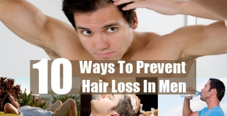 Ways To Prevent Hair Loss In Men