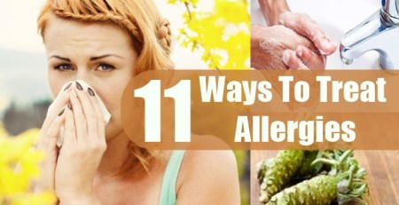 Ways To Treat Allergies