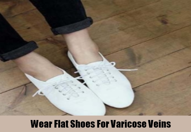 Wear Flat Shoes For Varicose Veins