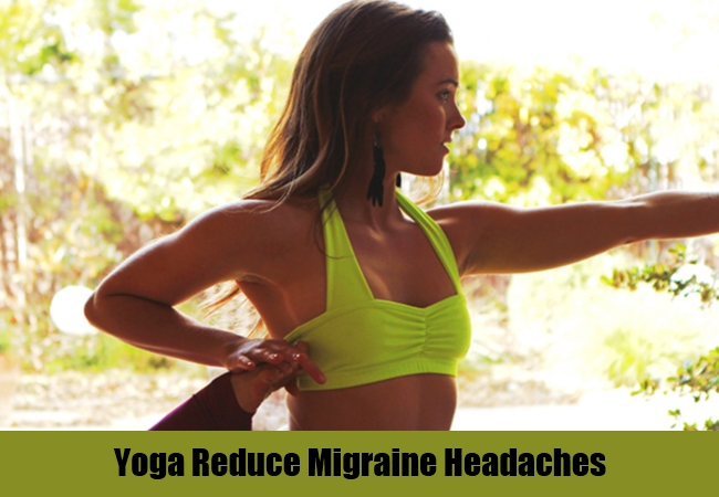 Yoga Reduce Migraine Headaches