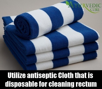 antiseptic cloth