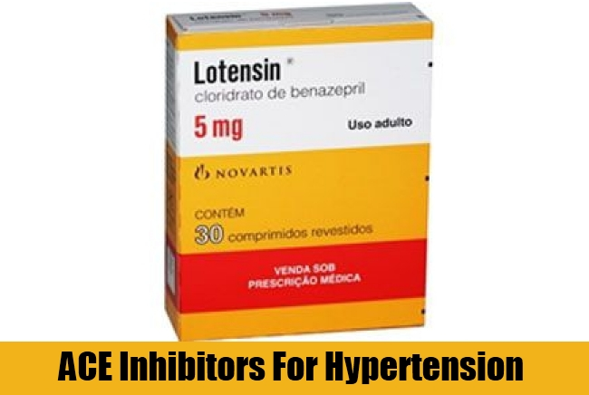 ACE Inhibitors For Hypertension