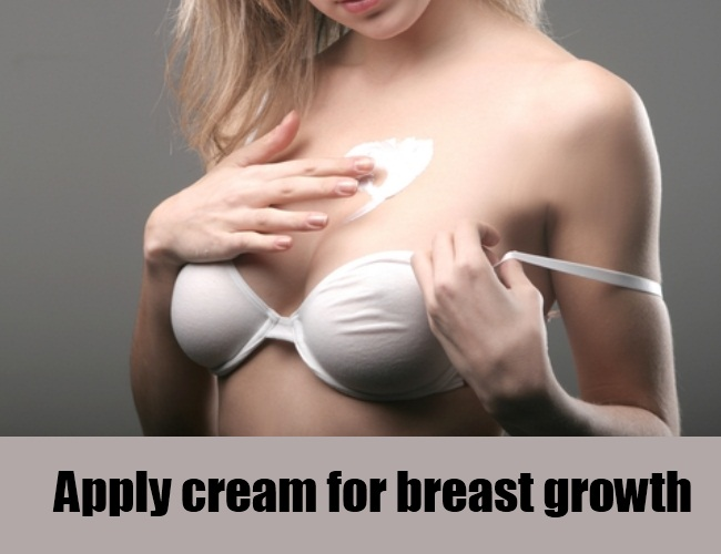 how to stop breast growth naturally