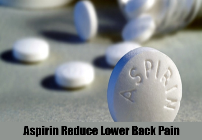 Aspirin Reduce Lower Back Pain