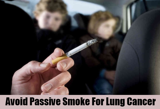 Avoid Passive Smoke For Lung Cancer