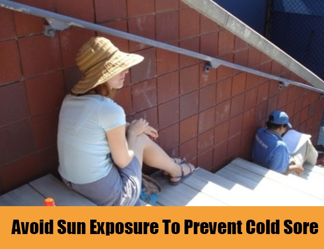 Avoid Sun Exposure To Prevent Cold Sore