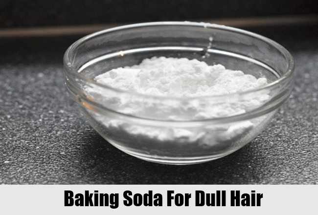 Baking Soda For Dull Hair