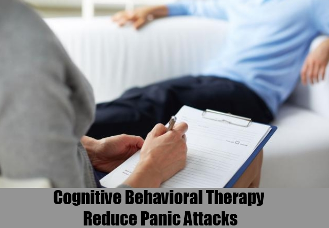 Cognitive Behavioral Therapy Reduce Panic Attacks