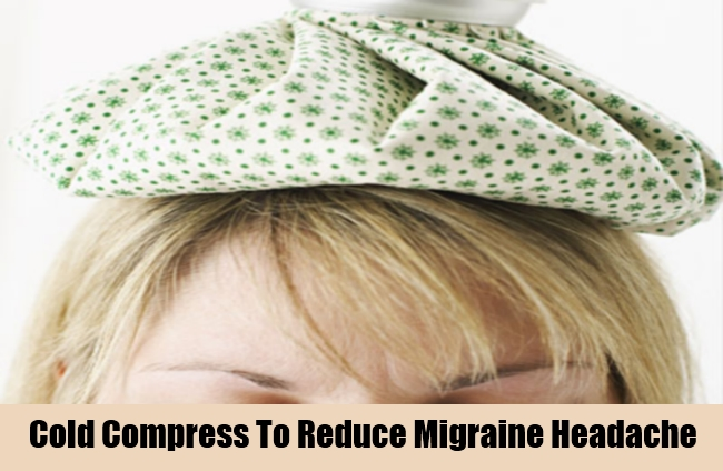 Cold Compress To Reduce Migraine Headache
