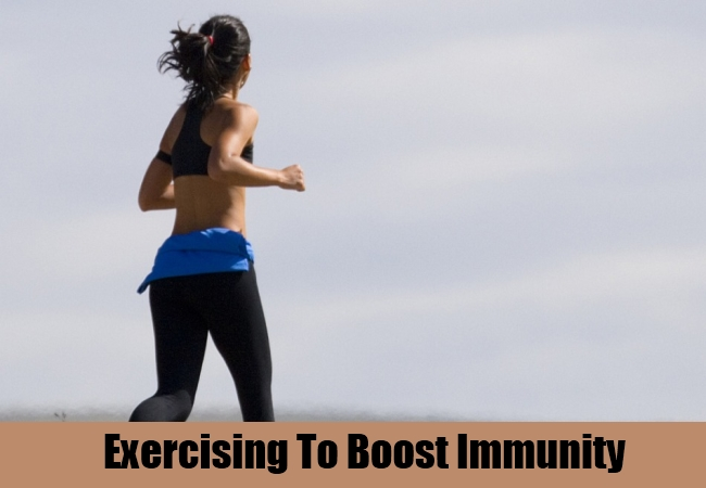 Exercising To Boost Immunity
