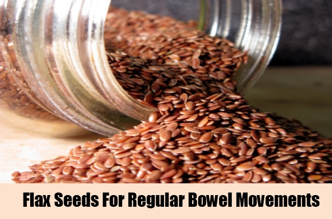 Flax Seeds For Regular Bowel Movements