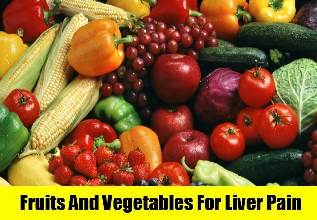 Fruits And Vegetables For Liver Pain