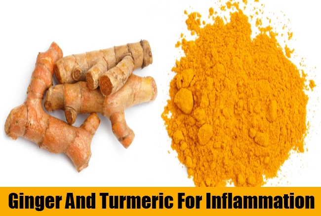 Ginger And Turmeric For Inflammation