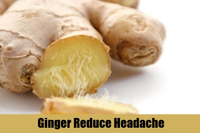 Ginger Reduce Headache