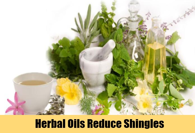 Herbal Oils Reduce Shingles