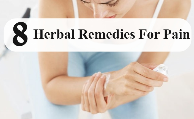Herbal Remedies For Pain