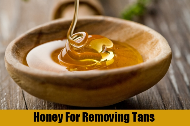 Honey For Removing Tans
