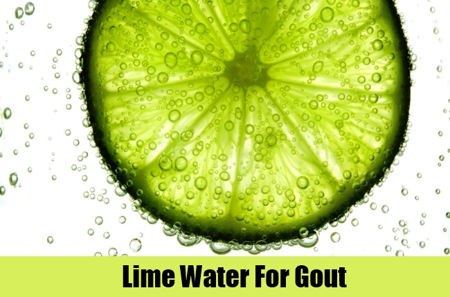 Lime Water For Gout