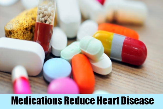 Medications Reduce Heart Disease