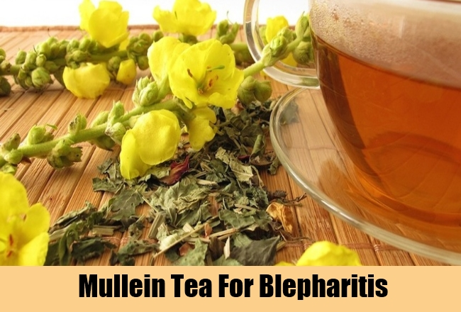 Mullein Tea For Blepharitis