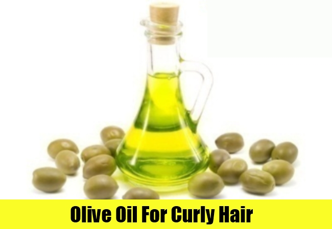 Olive Oil For Curly Hair