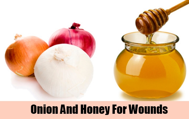 Onion And Honey For Wounds