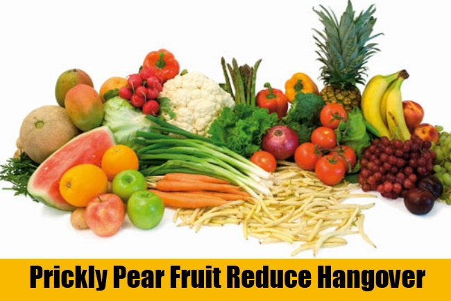 Prickly Pear Fruit Reduce Hangover