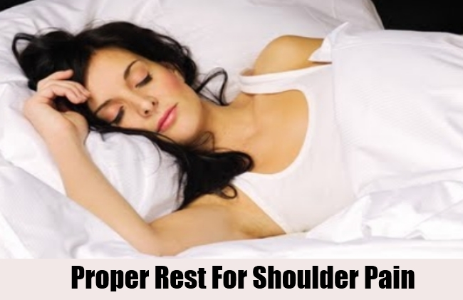 Proper Rest For Shoulder Pain