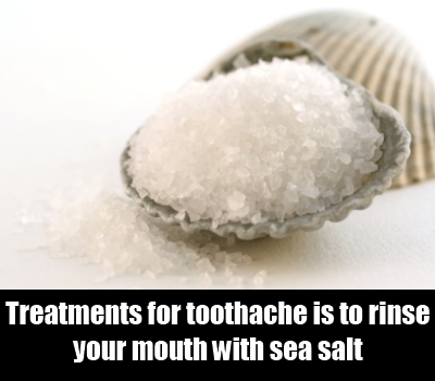 Rinse With Sea Salt
