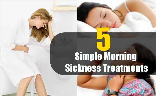 Simple Morning Sickness Treatments