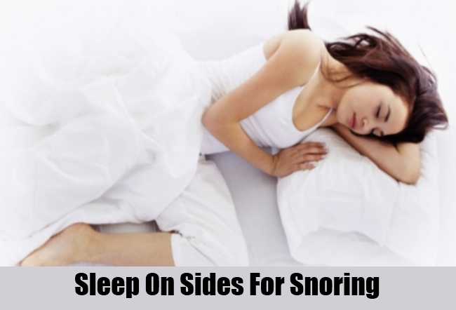 Sleep On Sides For Snoring