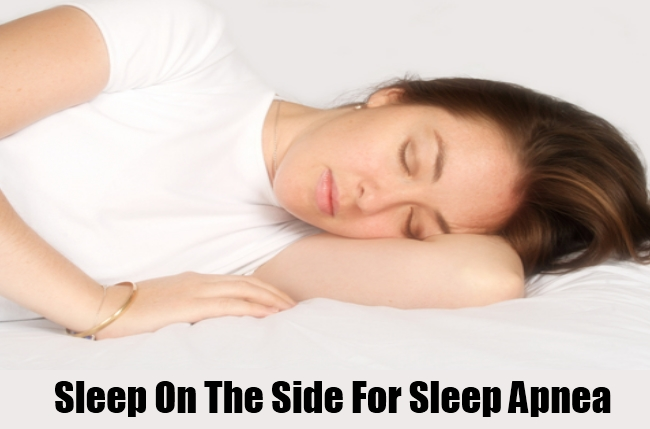 Sleep On The Side For Sleep Apnea