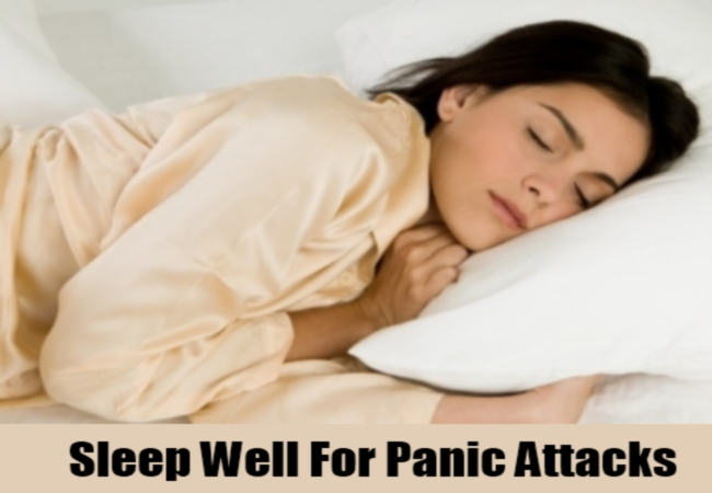 Sleep Well For Panic Attacks