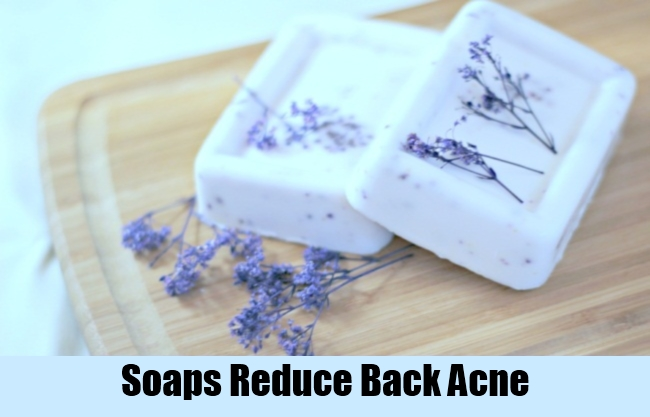 Soaps Reduce Back Acne