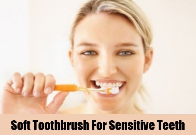 Soft Toothbrush For Sensitive Teeth