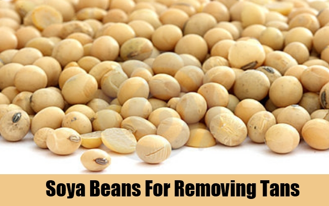 Soya Beans For Removing Tans