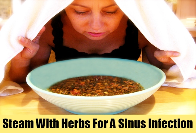 Steam With Herbs For A Sinus Infection