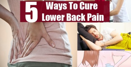 Ways To Cure Lower Back Pain