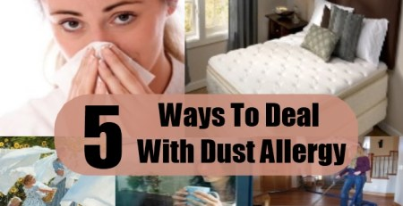 Ways To Deal With Dust Allergy